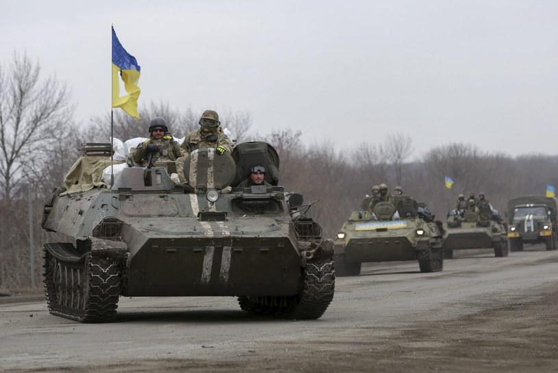 Ukraińscy żołnierze w rejonie Doniecka /PAP/EPA