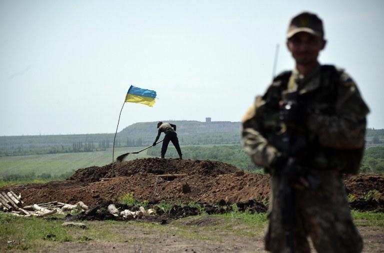Ukraińscy żołnierze, zdj. ilustracyjne /GENYA SAVILOV /AFP