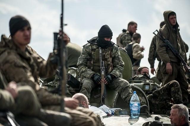 Ukraińscy żołnierze /KONSTANTIN IVANOV /PAP/EPA