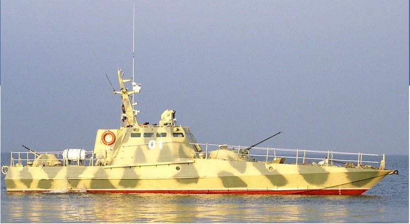 Ukraiński kuter rzeczny proj. 58155 typu Giurza-M /domena publiczna