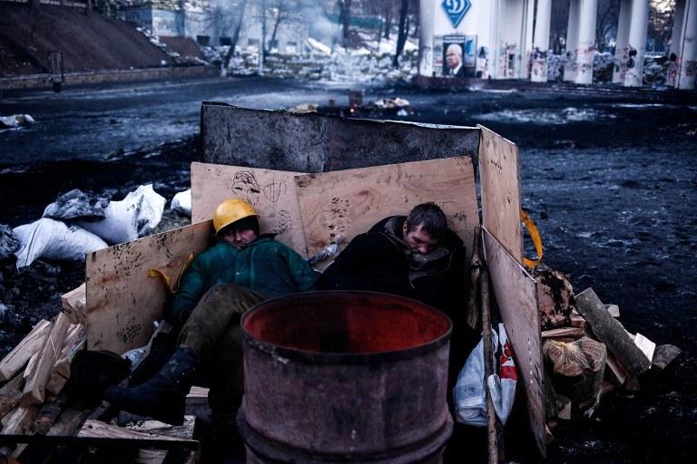 Ukraiński Majdan /AFP