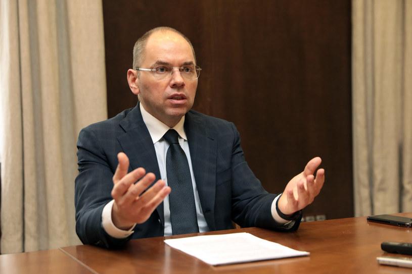 Ukraiński minister ochrony zdrowia jest zakażony koronawirusem /UKRINFORM    /East News