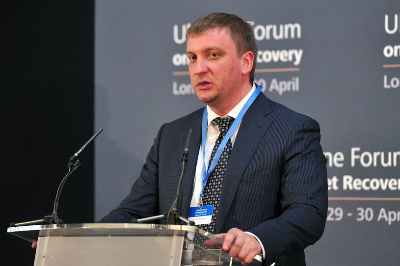 Ukraiński minister sprawiedliwości Pavlo Petrenko. /AFP