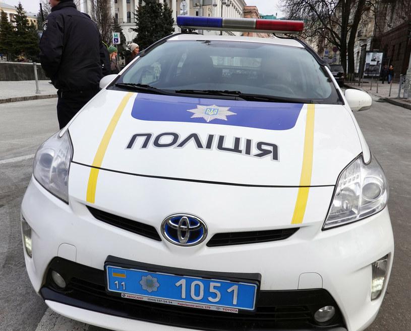 Ukraiński radiowóz policyjny, zdjęcie ilustracyjne /Wojtek Laski /East News