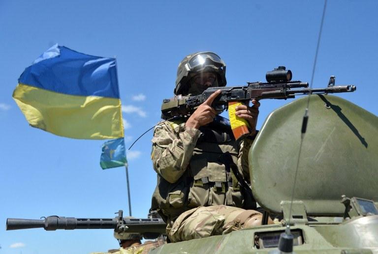 Ukraiński żołnierz /AFP