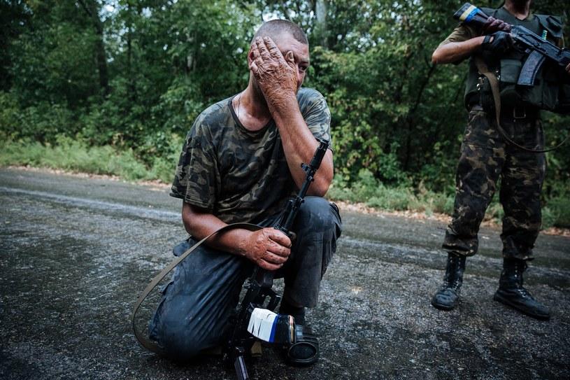 Ukraiński żołnierz /ROMAN PILIPEY /PAP/EPA