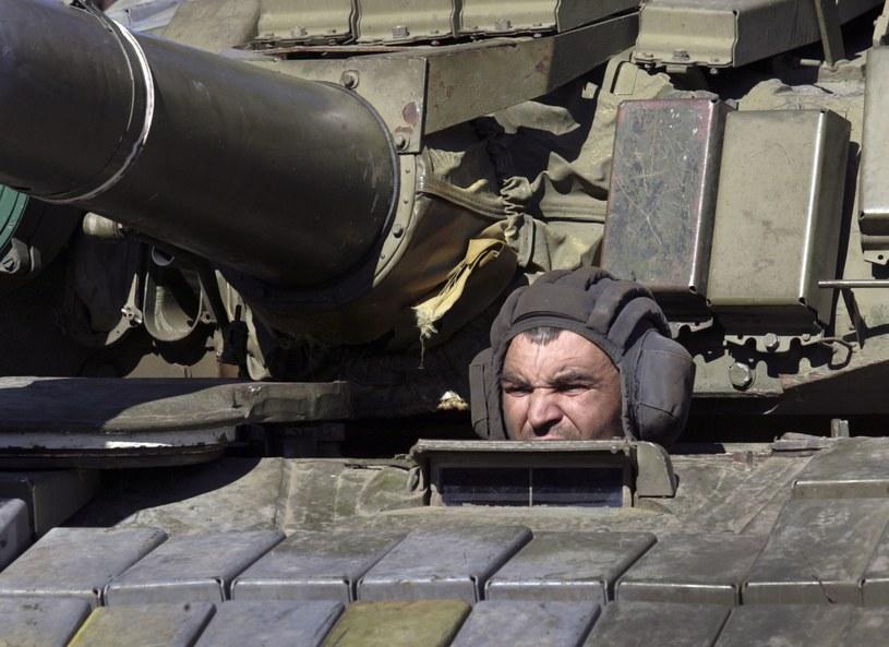 Ukraiński żołnierz /PAP/EPA
