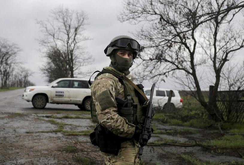 Ukraińskich żółnierzy będą szkolić Amerykanie /PAP/EPA