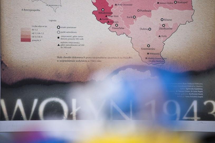 Ukraińskie media o polskiej uchwale w sprawie Wołynia /Wojciech Stróżyk /Reporter