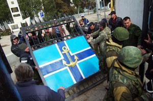 Ukraińskie media: Rosjanie wykorzystują na Krymie żywe tarcze