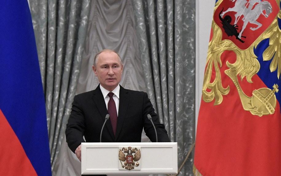 Ukraińskie służby sugerują, że Polsce grozi atak ze strony Rosji /ALEXEY NIKOLSKY / SPUTNIK / KREMLIN POOL /PAP/EPA