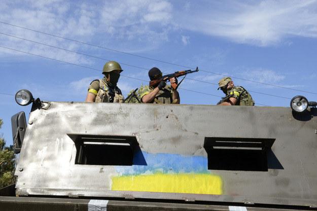 Ukraińskie władze twierdzą, że wojsko jest w stanie odeprzeć atak Rosjan /AFP