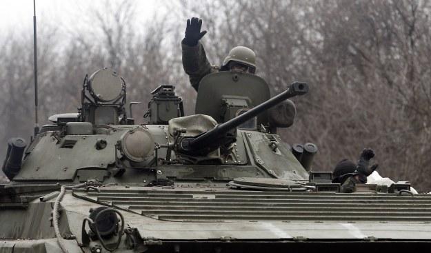 Ukraińskie wojska /AFP