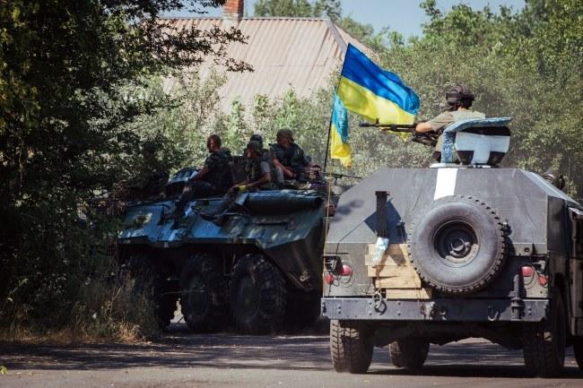 Ukraińskie wojsko /ROMAN PILIPEY /PAP/EPA