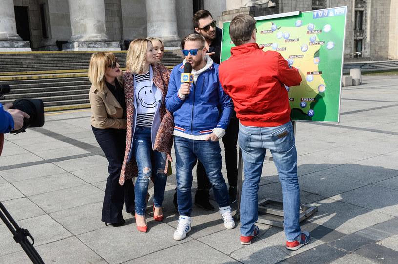 Ula Chincz, Filip Chajzer i reszta celebrytów powiązana z TVN-em /Jarosław Antoniak /MWMedia