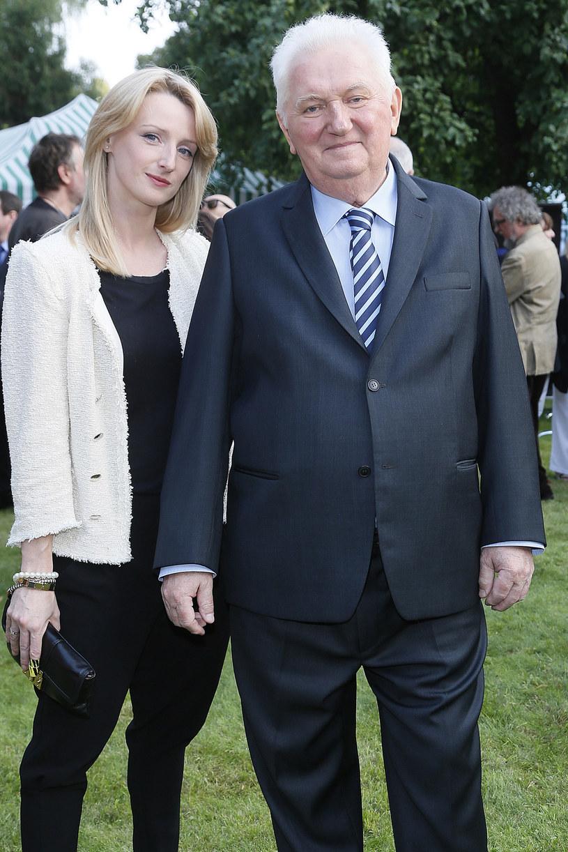 Ula Chincz z ojcem, Andrzejem Turskim, który dla wielu dziennikarzy i prezenterów był wzorem do naśladowania. Zmarł 31 grudnia 2013 roku. /AKPA