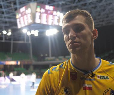 Uladzislau Kulesh (Vive Kielce) po meczu z Nantes. Wideo