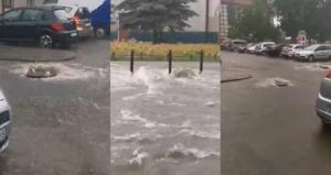 Ulewy i burze nad Ziemią Lubuską. Zielona Góra zalana