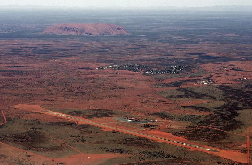 Ulewy nawiedziły rejon góry Uluru /AFP