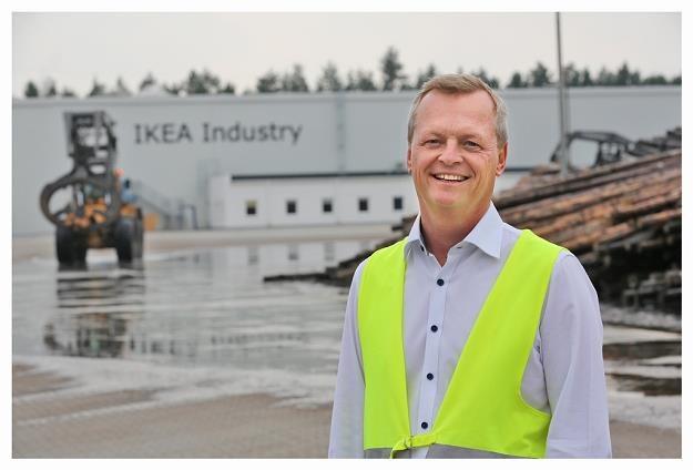 Ulf Gabrielsson - dyrektor tartaku IKEA Industry Stalowa Wola. Fot. IKEA /