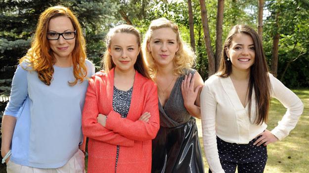 Uliana (Anna Gorajska), Polina (Magdalena Wróbel), Olyia (Katarzyna Ucherska) i Swietłana (Anna Maria Buczek) /Gałązka /AKPA
