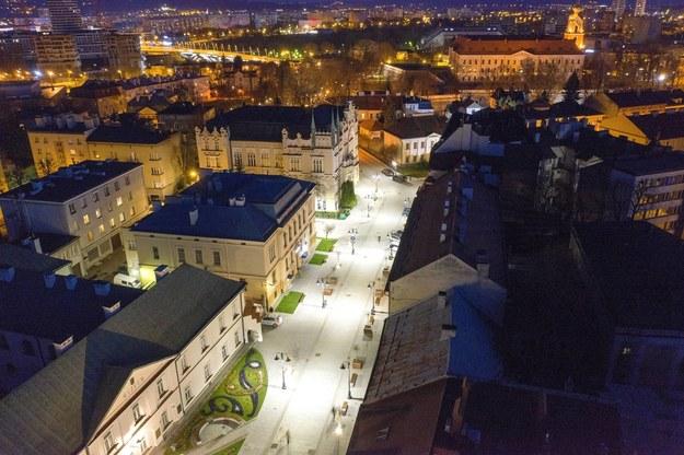 Ulica 3-go Maja w Rzeszowie /Darek Delmanowicz /PAP
