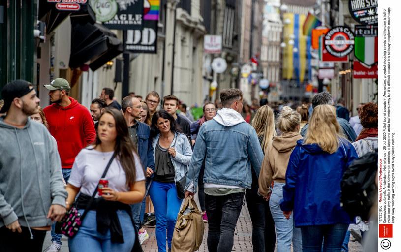 Ulica Amsterdamu - holenderskiej stolicy /Rex Features/EAST NEWS /East News