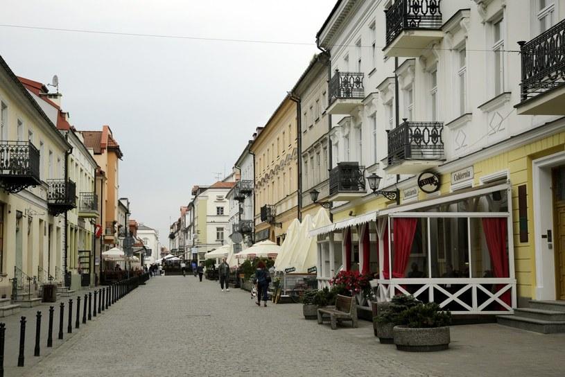 Ulica Grodzka w Płocku /Bartosz Makowski /Reporter