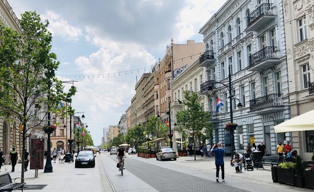 Ulica Piotrkowska w Łodzi – najdłuższa strefa kibica w Polsce