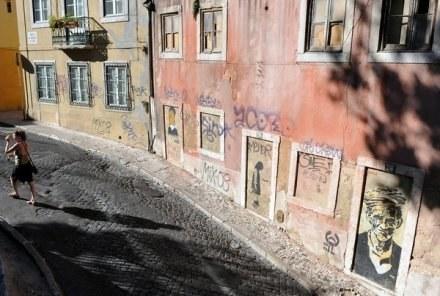 Ulica w Lizbonie /AFP