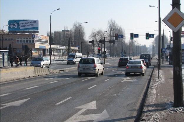 Ulica Wielicka w Krakowie /RMF