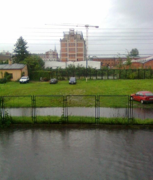 Ulica Wyspiańskiego w Żyrardowie /Marcin /Gorąca Linia RMF FM