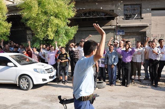 Ulice Aleppo, 25 lipca 2012 /AFP