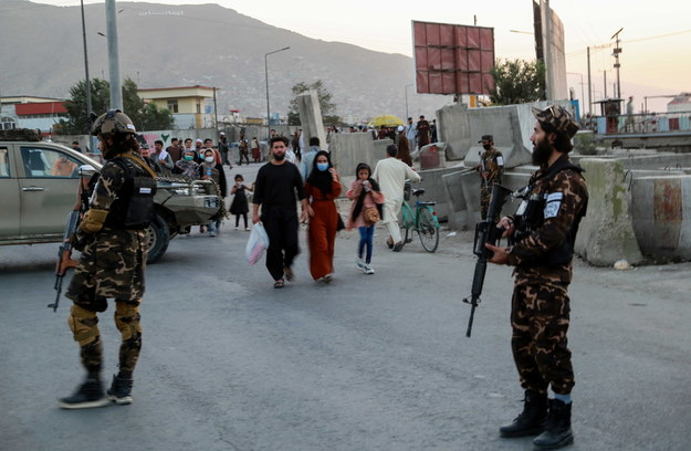 Ulice Kabulu, stolicy Afganistanu. /STRINGER /PAP/EPA