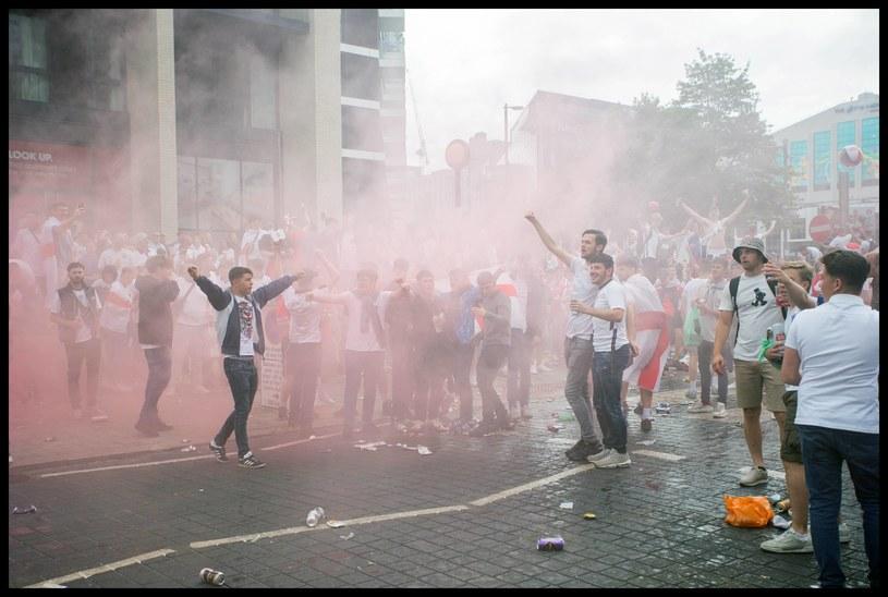 Ulice Londynu przed meczem Anglia - Włochy /ZUMA/NEWSPIX.PL /Newspix