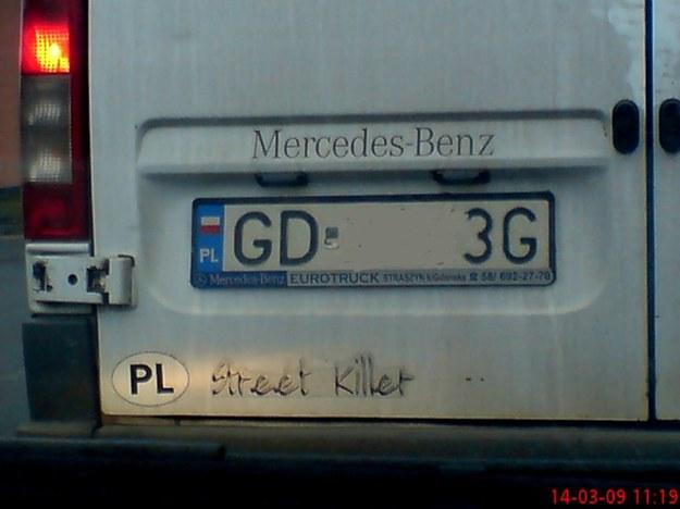 "Uliczny ""morderca"""