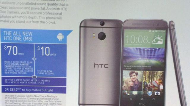 Ulotka zdradzająca sczegóły na temat nowego HTC One. /materiały prasowe