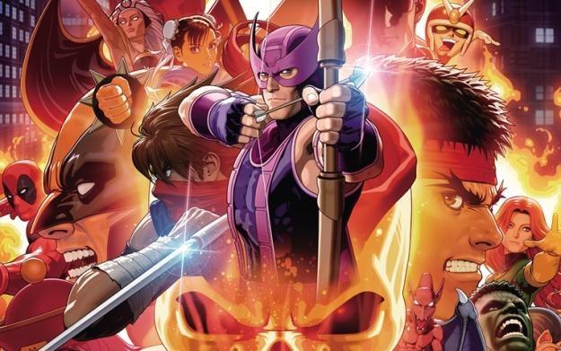 Ultimate Marvel vs. Capcom 3 - motyw graficzny /Informacja prasowa