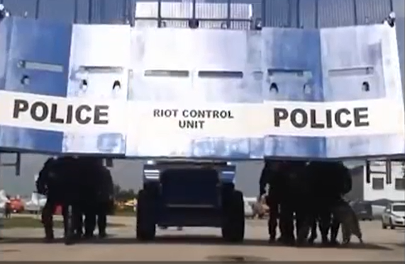 Ultimate Riot Control Vehicle /