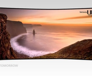Ultra HD - 105-calowy zakrzywiony telewizor 4K Samsunga