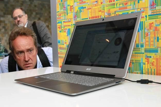 Ultrabooki - następca notebooka według Intela /AFP