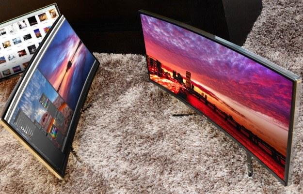 Ultrapanoramiczny monitor IPS 21:9 (model 34UC97) i monitor 4K do kina cyfrowego (model 31MU97) /materiały prasowe