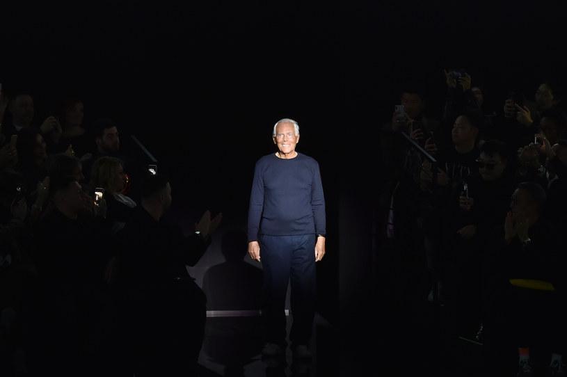 Ulubionym kolorem Giorgio Armaniego jest szarość /Getty Images