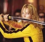 """Uma Thurman w filmie """"Kill Bill: Volume 1"""" /Archiwum"""