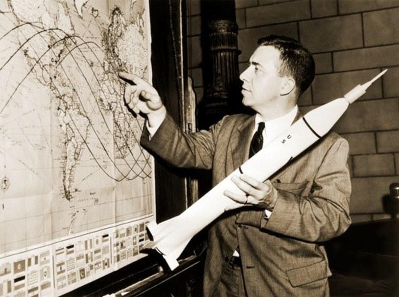 Umieszczenie na orbicie okołoziemskiej satelity Explorer 1 wlutym 1958 roku było fetowane w USA jako włączenie się do wyścigu kosmicznego /East News