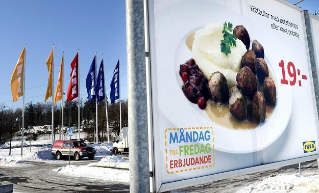 Umorzono śledztwo w sprawie koniny w klopsikach sieci IKEA /AFP