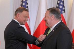 Umowa między Polską a USA zawarta. Mike Pompeo i Mariusz Błaszczak złożyli podpisy
