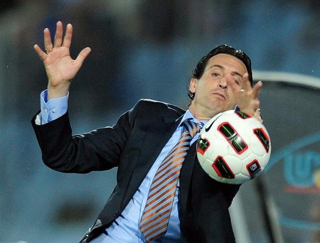 Unai Emery, trener Valencia CF /AFP