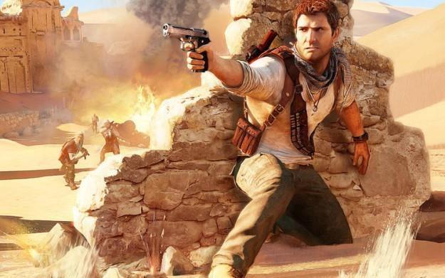 Uncharted 3 - motyw graficzny /Informacja prasowa