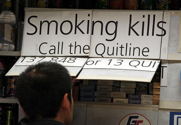 Unia chce rewolucji dla palaczy /AFP